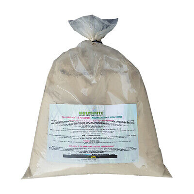 DIATOMACEOUS EARTH Red Mite, Worming DE Powder 2KG - Feed Grade De Fast Delivery