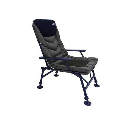 Prologic NEW Commander Green Padded Fishing Chair Armchair - 54335
