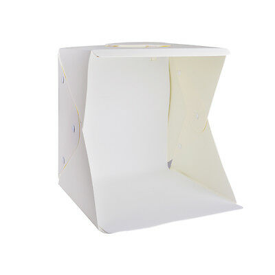 "12"" Light Box Photo Studio Photography Tent+White/Black/Red/Green Backdrop LF774"
