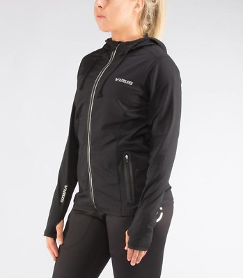 Women's BioFleet Training Full Zip Jacket (EAu23) in Black/Silver