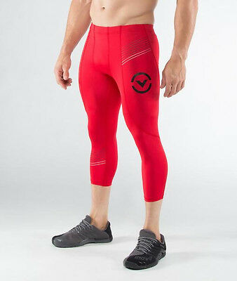 Men's Stay Cool 3/4 Length Compression Boot Cut (RX5-V3) Red in Red/Black