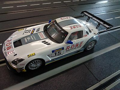 Scaleauto SC-7046, 1:24 Mercedes SLS GT3, Mamerow Racing, Slotcar in 1:24