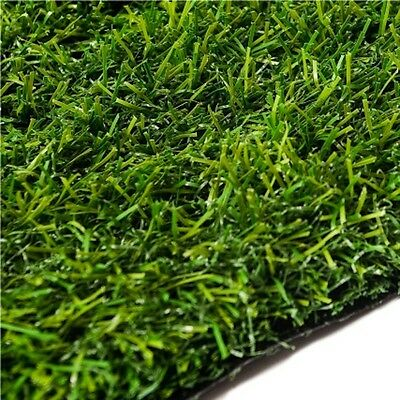 30mm Thick 4m x 1m Artificial Grass Turf Natural Green Lawn Garden