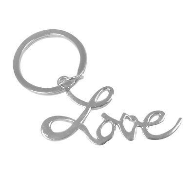 Love Keychain Silver Sex and the City Movie Key Ring Chain Louise Carrie SATC