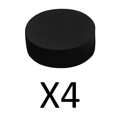 A&R Foam Sponge Puck For Indoor Outdoor Practice Soft Squishy And Safe (4-Pack)