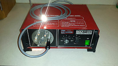 Wolf Fiber Light Projector w/ Optic Cable