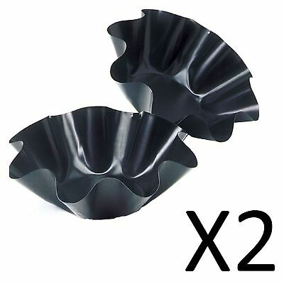 Norpro Nonstick Mini Tortilla Taco Salad Bowl Bakers New Set Of Two (2-Pack)