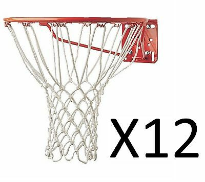 Champion Sports Basketball Net 5mm Non Whip Replacement Durable Rugged (12-Pack)