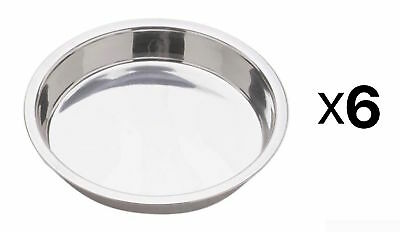 "Norpro Stainless Steel 9"" Round Layered Birthday Cake Cheesecake Pan (6-Pack)"