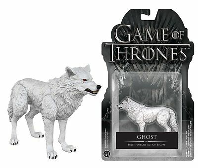 Funko Game Of Thrones - Ghost Poseable Articulated Action Figure Collectible Toy