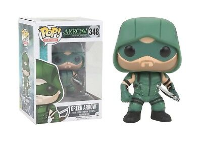 Funko Pop TV Arrow: The Green Arrow Vinyl Action Figure 348 Collectible Toy 9478