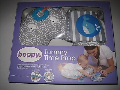 Boppy Tummy Time Play Mat, Sea Explorers/Gray, OPEN BOX, NEW CONDITION