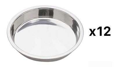 "Norpro Stainless Steel 9"" Round Layered Birthday Cake Cheesecake Pan (12-Pack)"