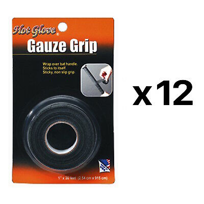 Unique Sports Gauze Grip Bat Tape Athletic Baseball And  Softball 2209 (12-Pack)