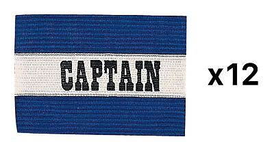 Champion Sports Youth Soccer Captains ARM Band Blue CYP-BLU (12-Pack)
