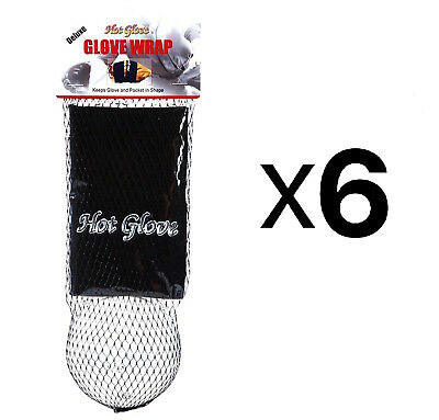 Unique Sports Glove Wrap With Shaping Ball Baseball-Softball Deluxe (6-Pack)