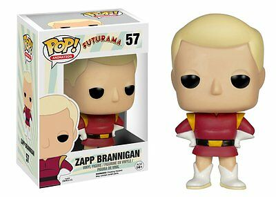 Funko Pop Animation Futurama: Zapp Brannigan Vinyl Action Figure Collectible Toy