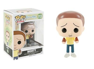 Funko Pop Animation Rick & Morty - Morty Vinyl Action Figure Collectible Toy 113