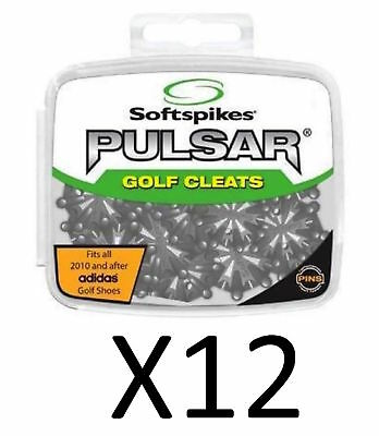 Softspikes Pulsar PINS Golf Cleat Kit - Performance Insert System (12-Pack)