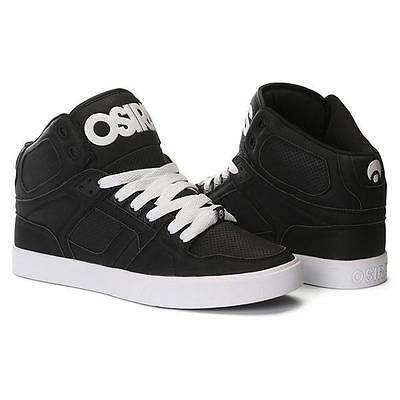 123d2f8fa8 NEW OSIRIS MEN'S NYC 83 Vulc Black/White/White Skateboard Shoes ...