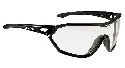 Alpina S-Way VL+ Sportbrille Sonnenbrille, black matt