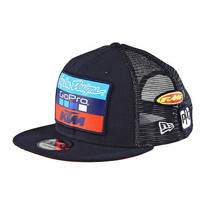 Troy Lee Designs 2017 KTM Team Wear Snapback Hat - Navy