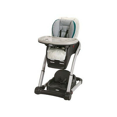 Graco Blossom 4-in-1 High Chair Seating System -  Sapphire - Free  Shipping