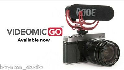 Rode VideoMic Go Lightweight On-Camera Shotgun Mic videomicgo ~ BEST DEAL!!