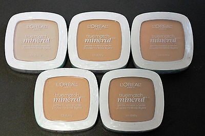 BUY 1, GET 1 AT 20% OFF L'Oreal True Match Mineral Gentle Mineral Powder *Sealed