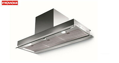 FRANKE STYLE LUX LED 600mm Stainless Steel Built-In COOKER HOOD + Carbon Filter
