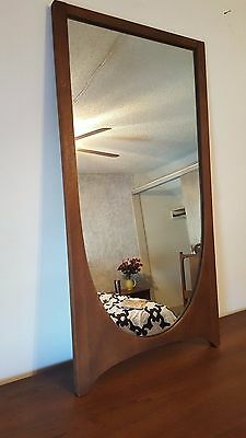 Vtg Broyhill Brasilia Mid Century Danish Modern Original Condition Mirror