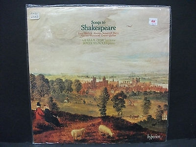 Songs to Shakespeare Warlock Moeran Somervall TREW VIGNOLES Hyperion A66026