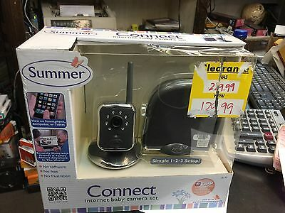Summer 28130 Infant Connect Internet Camera System Baby Monitor NEW    Video