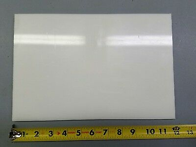 """Delrin Plastic Sheet 1/2"""" Thick 8"""" X 12"""""""