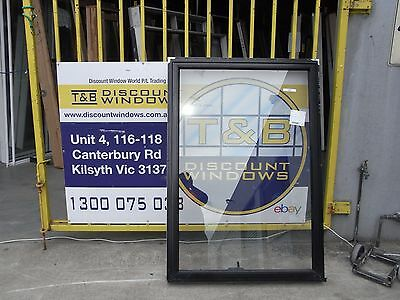 Aluminium Awning window 1495H X 1040W (item 2397 / ) Black