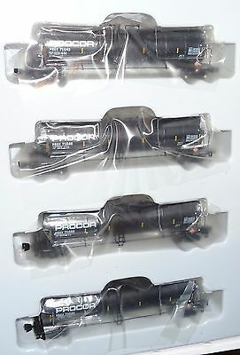 Z scale AZL - 4 Pack 23000 G Funnel Flow Tank Car Procor  PROX  -   90511-1