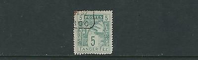 MOROCCO circa 1890s TANGER to FEZ LOCAL POST PALM TREE F/VF USED