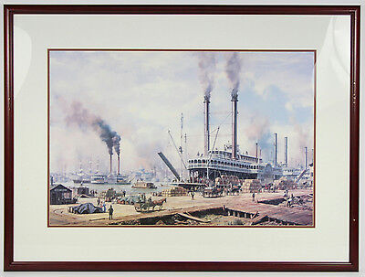 Seascape Nautical New Orleans Print Roy Cross