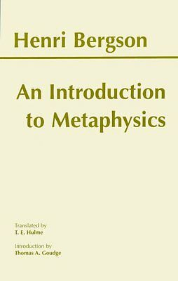 An Introduction to Metaphysics by Henri Bergson 9780872204744 (Paperback, 1999)