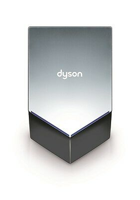 Dyson Airblade V Hand Dryer Nickel HU-02 with free stainless back panel