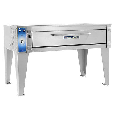 "Bakers Pride EB-1-8-5736 74"" Single Deck Electric Bake Oven - 208V, 3 Phase, NEW"