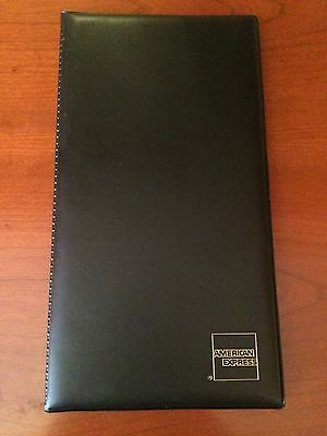American Express Double Panel Check Presenter Restaurant Bill