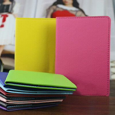 New Passport Holder PU Leather Protector Cover Case For Outdoor Travel 1 pcs