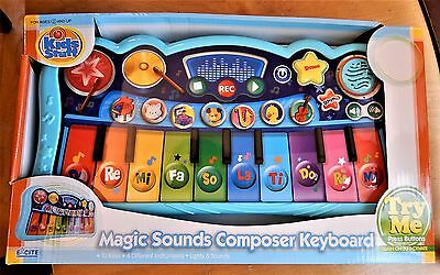 Excite Kids Stuff Magic Sounds Composer Keyboard