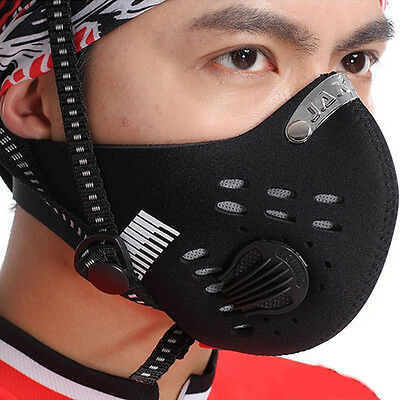 Sales Cycling Bicycle Skate Anti-pollution Half Mask Dustproof With Dust Filter