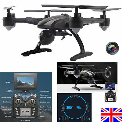 JXD 509G RC Quadcopter 2.4G 4CH 6-Axis Gyro 5.8G FPV DRONE 2.0MP Camera UK Ship!