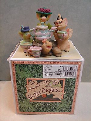 "Pocket Dragons ""Tea and Gossip""  # 002797 with org. box 2000 (J2)"
