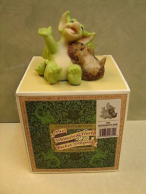 "Whimsical World Of Pocket Dragons. ""The Hedgehog's Joke""  MIB 1995 # 02804 (J2)"