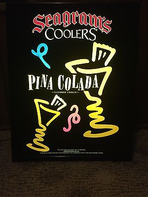 Seagram's Pina Colada Lighted Sign