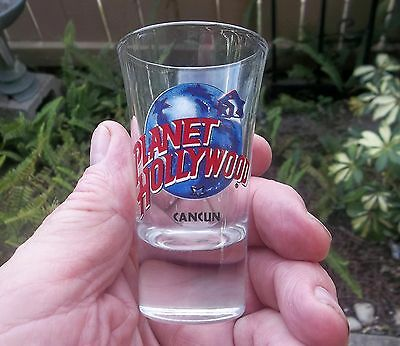 Planet Hollywood Cancun Tall Shot Glass